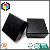 Luxury Crocodile Leather Black Color Gift Box; Rigid Chipboard Paper Gift Box Manufactures