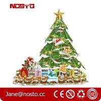 3D Puzzle Chrismas Tree with Clear Light,Easy-assembly DIY Xmas Decoration Manufactures