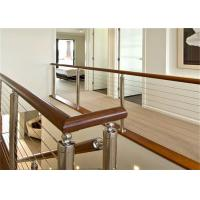 Top selling indoor stair railings cable stair stainless steel balusters Manufactures