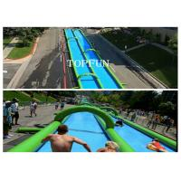 300M Huge Inflatable Water Slide Manufactures