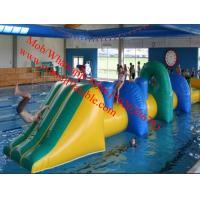 inflatable water obstacle course inflatable floating obstacle Manufactures