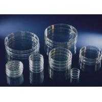 Medical Grade Laboratory Consumables 35mm / 60mm Polystyrene Culture Dishes Manufactures
