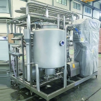 Buy cheap Plate heat exchanger and material balance bucket commercial milk Pasteurizer from wholesalers