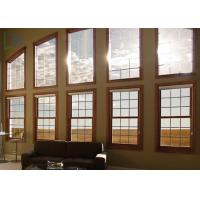 Quality Versatile Style Aluminium Double Hung Replacement Windows Soundproof for sale