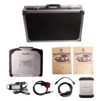 Quality Car Diagnostics Scanner Porsche Piwis Tester II With CF30 Laptop for sale