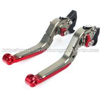 CNC Machined Motorcycle Brake Clutch Lever Adjustable Custom Motorcycle Levers Manufactures