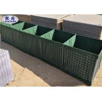 Buy cheap MIL 3 Military Perimeter Security Barriers 1MX1MX10M Galvanized Feature from wholesalers
