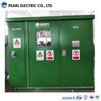 Green color substation transformer with compact size Manufactures
