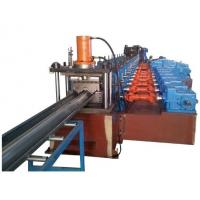 China High Quality 2 Waves Highway Guardrail Roll Forming Machine Drived By 13 sets High Strengthen Rollers Manufactures