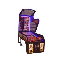 Buy cheap coin operated basketball simulator arcade game machine street hoop game machines from wholesalers