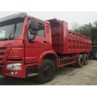 used machine China heavy truck howo dump trucks with 10 tires 12 wheels tipper trucks with one bed in good  condition Manufactures