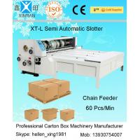 China Grinded Surface Pumping Corrugated Carton Paper Plate Making Machine Of Slotting on sale