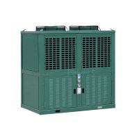 R404a Low Temperature Commercial Refrigeration Condensing Units Green Color 10 Horsepower Manufactures