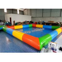 0.65mm PVC Tarpaulin Inflatable Swimming Pools For Kids And Adults Outdoor Use Manufactures