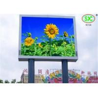 Buy cheap Stage background Outdoor P16 DIP Full Color LED Billboards , Pixel density 3906 from wholesalers