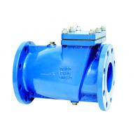 China Rubber Lined Disc Industrial Check Valves  DIN3202 F6 Swing Check Valve on sale