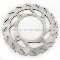 Silver Stainless Steel Front  / Rear Brake Rotor With Piercing Holes Manufactures