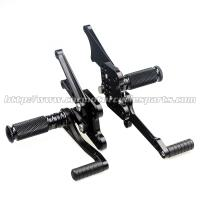 Adjustable Motorcycle Rear Sets CNC Aluminum Parts For Kawasaki Manufactures