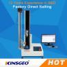 USA Sensor Single Column Compression Testing Machine , Paper Pressure Testing Equipments with PC Control Manufactures