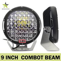 Round Off Road Led Work Lights 7 Inch / 9 Inch / 10 Inch For Trucks Manufactures