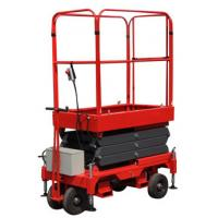 Buy cheap 3 Meters Hydraulic Mobile Scissor Lift with 300Kg Loading Capacity from wholesalers
