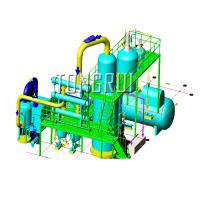 Quality Used Car Oil Distillation Refinery Machine / Waste Engine Oil Recycling for sale