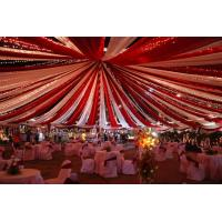 High Quality Waterproof PVC Fabric Outdoor Gallery Temporary Marquee Wedding Tent Manufactures