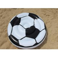 Buy cheap Adults Soccer Ball Pool Float / Giant Inflatable Swimming Mat For Sports Players from wholesalers