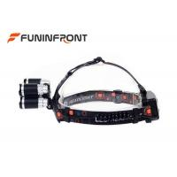 Quality 3000 LMs 5 LEDs Outdoor Cree Led Headlamp for Outdoor Emergency Camp Fishing for sale