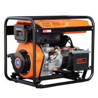 China Open Frame Air Cooled Engine 2.5kw portable diesel generators for home use on sale
