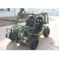Four Wheeler CVT Go Kart With 10 Inch Tire , Hammer Buggy Manufactures