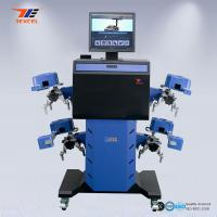 Car 3D Wheel Aligner Automatic Machine High Precision With Adjustable Camera Beam Manufactures