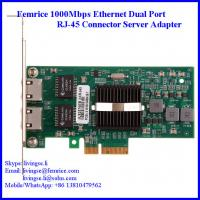 Buy cheap 1.25Gbps/10km Gigabit Server Ethernet Network Card, RJ-45 Copper Cable 10002ET from wholesalers