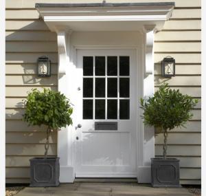 Solid Wood Doors customized plastic composite pvc MDF white black door Manufactures