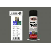 AEROPAK 500ml Line Marking Spray Paint medium grey color with MSDS for wall Manufactures
