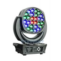 Electronic Focusing LED Wash Moving Head Light 28x25W With 16 Bit Resolution Manufactures