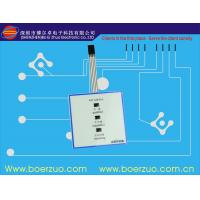Quality OEM Waterproof Membrane Metal Dome Switch keypads With 3m Adhesive for sale