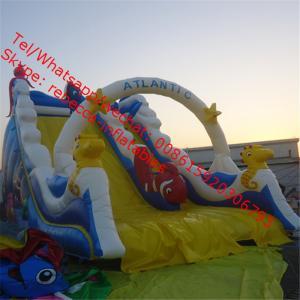 New Desigen Inflatable Water Slide For Sale  Good Quality Inflatable Water Slide For Summer Holiday Manufactures