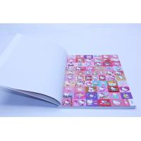 Quality Soft Cover Art Paper Children's Book Printing With Glossy Sticker Paper Book for sale