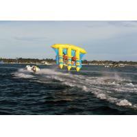 Outdoor Inflatable Water Flying Fish Boat For Amusement Park In Summer