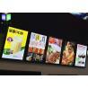 Buy cheap Menu Lightbox LED Restaurant Menu Boards Backlight Aluminum Alloy Frame from wholesalers