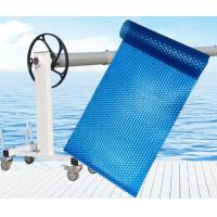 Portable Thermal PE Bubble Plastic Swimming Pool Covers Thickness 400um 500um 600um Manufactures