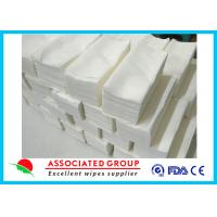 Buy cheap Baby Care Disposable Dry Wipes , Dry Baby Wipes Disposable Mesh Spunlace from wholesalers