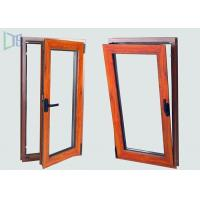 European Style Aluminium Tilt And Turn Windows with Two Open Way Double Glazing Manufactures