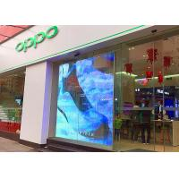 Transparent Indoor LED Display Screen WiFi Control Glass Window CE Approved Manufactures