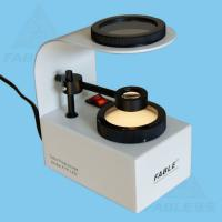 Warmly white light LED desktop Gem polariscope for checking Gem light axis and polychroism FTP-LED Manufactures