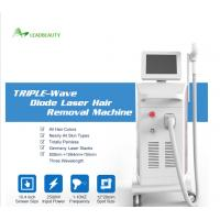 China new price 755nm 808nm 1064nm diode alexandrite laser hair removal machine on sale