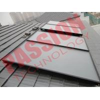 Blue Titanium Flat Plate Solar Collector Pressurized Heating Panel Manufactures