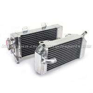 High Polish Custom Motorcycle Radiator For HONDA CRF250R CRF250X CRF 250R/250X Manufactures