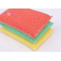 High Density Kitchen Cleaning Scrubber Reusable Custom Logo Various Color